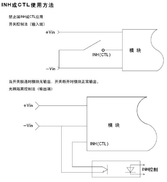 直流转直流电源模块使用说明